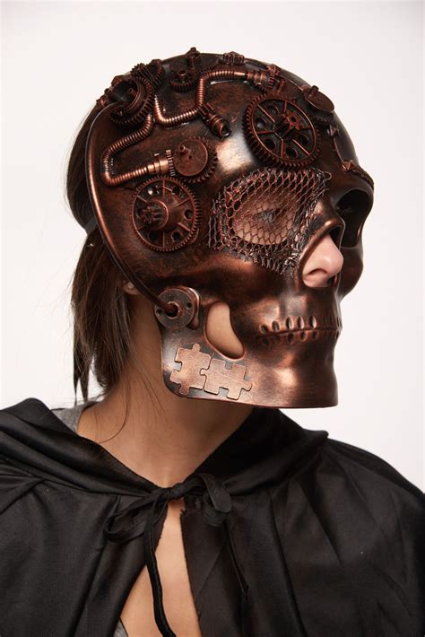 terminator steampunk mask