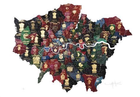 london artist celebrates  citys
