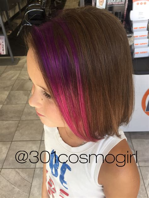 These Purple Pink Pravana Ombré Peekaboos Are Perfect For