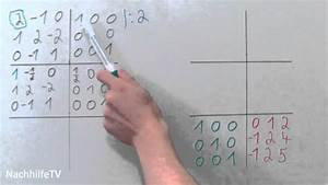 Eigenwert Matrix Berechnen : inverse matrix berechnen nach gau jordan youtube ~ Themetempest.com Abrechnung