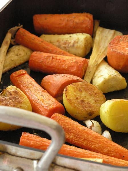 Jamie Oliver's Roasted Root Vegetables Streaminggourmet
