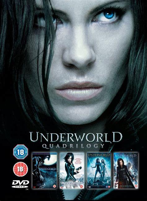 Underworld - 1-4 Box Set DVD - Zavvi UK