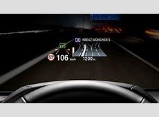 BMW X3 HUD update