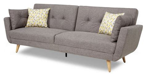 bed settee dfs inca midcentury style sofa bed at dfs