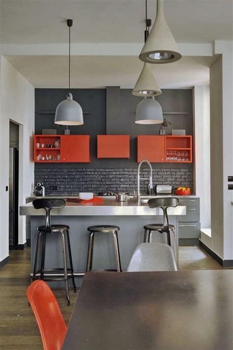 cuisine cr駮le couleur pour cuisine 105 idées de peinture murale et façade