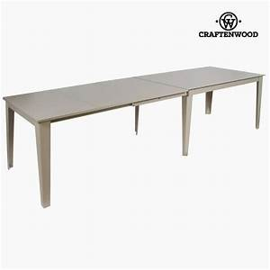 Table Extensible Grise : table extensible grise by craftenwood achat vente table a manger seule table extensible ~ Teatrodelosmanantiales.com Idées de Décoration