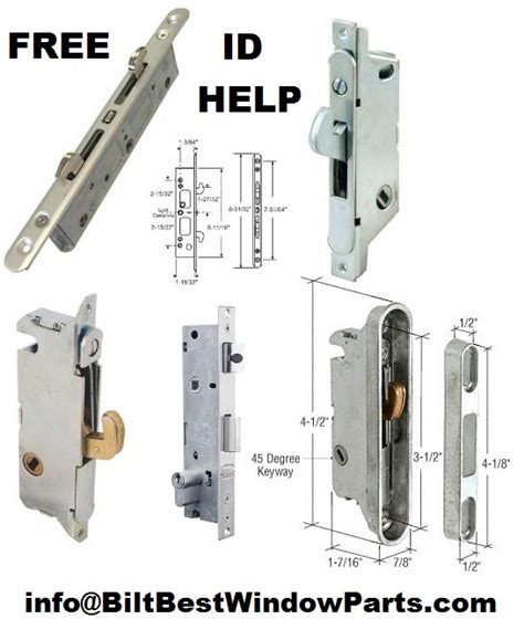 replacement mortise lock parts  patio doors  brands biltbest window parts