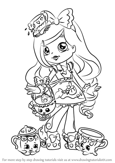 shoppie coloring pages  getcoloringscom