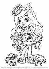 Coloring Pages Shoppies Shopkins Shoppie Colouring Draw Drawing Dolls Printable Hopkins Sheets Kirstea Result Step Shopkin Print Getcolorings Template Books sketch template