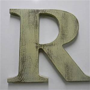 wooden letter rustic wall hanging letter from woodzproducts With rustic letter r
