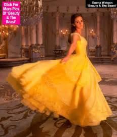 Emma Watson Beauty and the Beast Belle