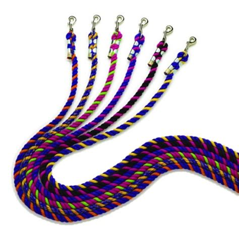 colored cotton rope neon colored cotton rope lead by perris leather at tohtc