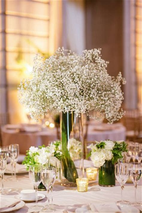 glam tall floral wedding centerpieces deer pearl flowers