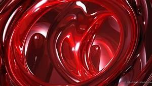 3D Red Wallpaper