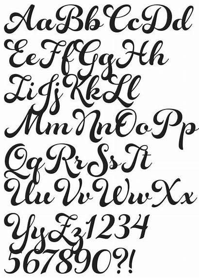 Fonts Tattoo Calligraphy Cool Font Lettering Letters
