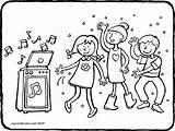 Disco Enfants Colouring Dansent Coloriage Qui Ausmalbilder Danser Kleurplaat Kinderdisco Kleurprent Kiddicolour Tekening Singen Dancing Kinderen Children Kiddicoloriage Kiddimalseite Kleurprenten sketch template