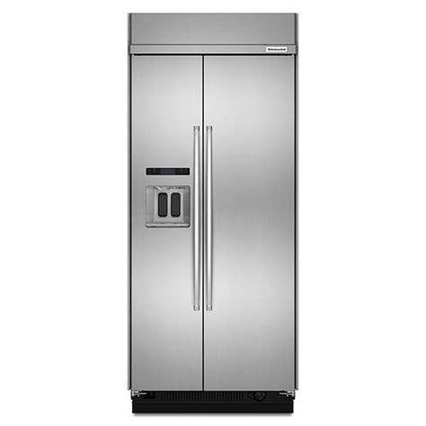 Kitchenaid Refrigerator Built In by Kitchenaid 36 Quot Built In Refrigerator Kbsd606ess