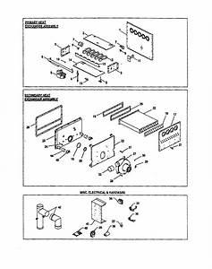 Goodman Gas Furnace Heat Exchangers  Misc Elec     Parts