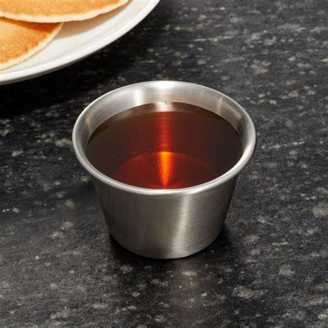 stainless steel condiment cups reviews crate  barrel