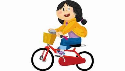 Ride Bike Flashcard Flash Card 3a