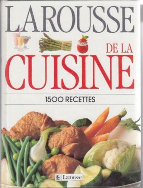 gratuit livre en francais pdf larousse de la cuisine