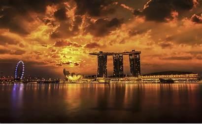 Singapore Wallpapers Bay Marina Sands Background Nu