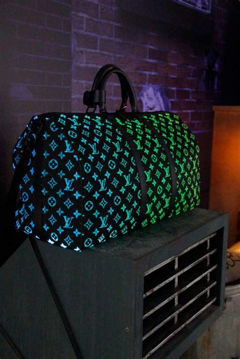 louis vuittons fiber optic fw sneakers  bags