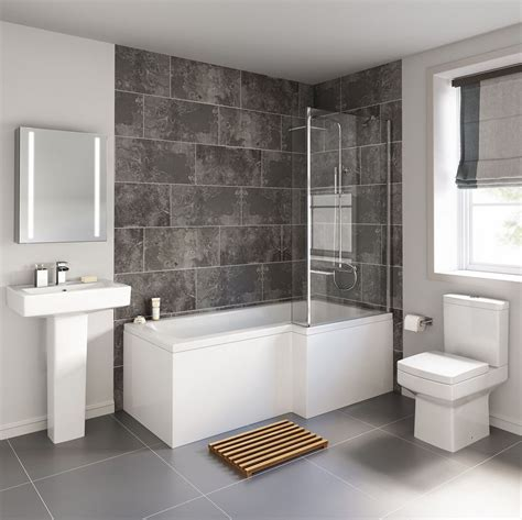 on suite bathroom ideas cheeky bathrooms modern bliss l shaped shower bathroom suite