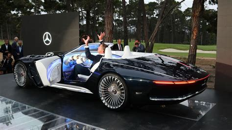 Vision Mercedesmaybach 6 Cabriolet Is A Gorgeous Topdown Ev