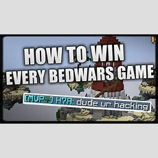 Hypixel  How To Win Every Bedwars Game!  Youtube