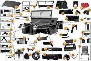 Body Parts For Vintage Cj U0026 39 S  U0026 M38a1