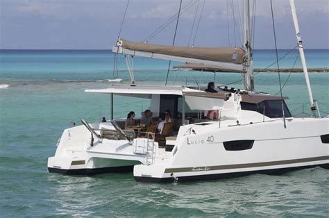 Catamaran Lucia 40 by The New Fountaine Pajot Lucia 40 Atlantic Cruising Yachts