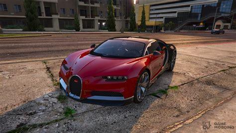 Gta V Bugatti Chiron by 2017 Bugatti Chiron 1 0 For Gta 5