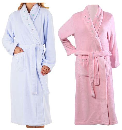 robe de chambre traduction slenderella femmes floral brodé robe de chambre laineux