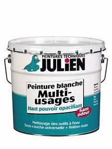 Peinture Sans Sous Couche : sous couche peinture blanche multi usages peintures julien ~ Premium-room.com Idées de Décoration