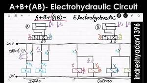 A B  Ab - Electrohydraulic Circuit - Series Part-6