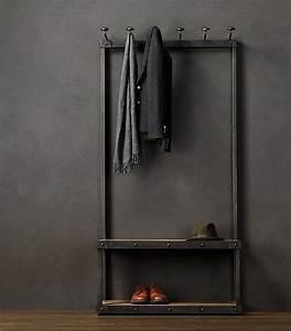 Porte Manteau Industriel : pas cher loft american vintage style industriel fer forg portemanteau portemanteau de porte ~ Teatrodelosmanantiales.com Idées de Décoration