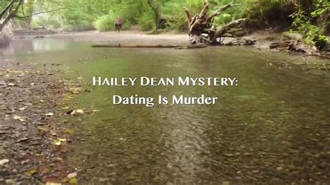 hailey dean mystery dating  murder