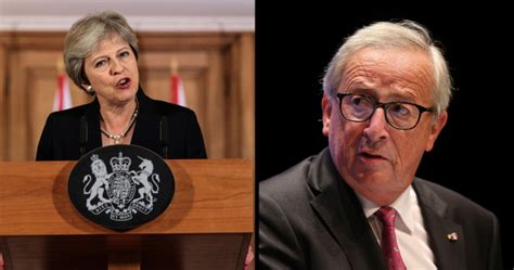 Enraged Theresa May offers out the EU in front of its ...