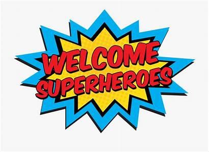 Welcome Clipart Superheroes Superhero Hero Camp Science