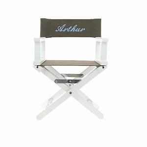 fauteuil metteur en scene enfant by matao With quelle couleur avec taupe 3 fauteuil metteur en scane personnalise