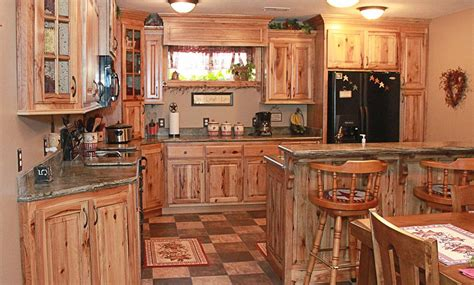 knotty hickory kitchen cabinets knotty hickory kitchen cabinets rustic hickory ideas