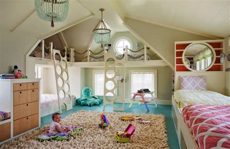 How Fun Is This!? Multiple Beds For A Big Kids Room