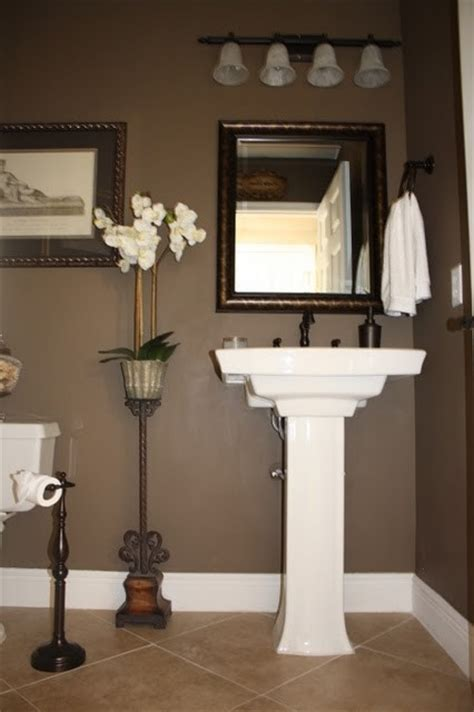 paint colors for bathroom with brown tile 17 best ideas about brown bathroom on brown