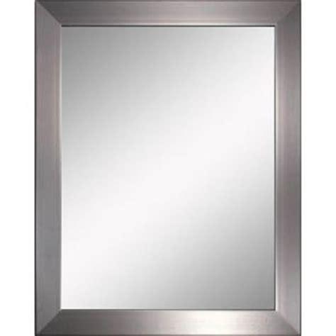 Bathroom Wall Mirrors Brushed Nickel by Brushed Nickel Bathroom Mirror My Web Value