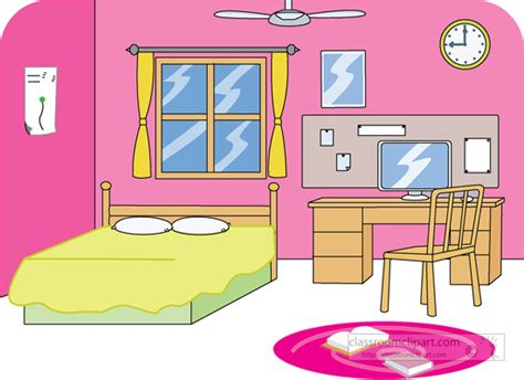Pencil And In Color Room Clipart