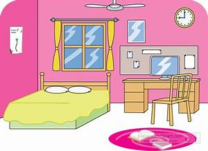 Room clipart clean room - Pencil and in color room clipart ...