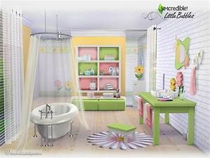 Simcredible39s little bubbles for Sims freeplay baby bathroom