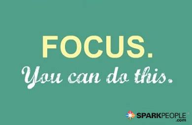 focus     sparkpeople