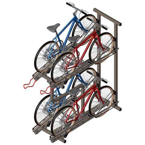 Quad Hidensity Bike Rack Cyclesafe